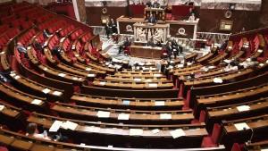 L'Assemblée nationale lors du vote de la prolongation de l'état d'urgence.