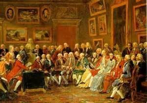 Les salons, la culture du régime féodal