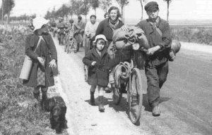 Les réfugiés de la guerre de 39-45